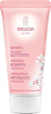 WELEDA Mandel Sensitiv Pflegelotion 20 ml Lotion