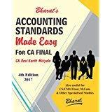Bharat's Accounting Standards Made Easy for CA Final Nov. 2017 Exam by CA. Ravi Kanth Miriyala