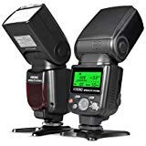 Voking VK750III Remote TTL Camera Flash Speedlite with LCD Display for Nikon D3400