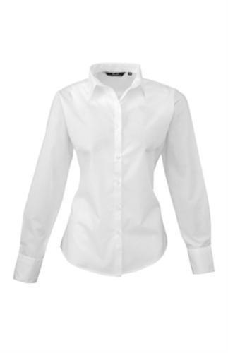 premier-frauen-damenpopeline-bluse-schlichtes-arbeitshemd-langrmelig-42size14-wei-de-42wei