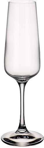 Villeroy & Boch Ovid Flûte 250 ml Cristallo Trasparente Set di 4