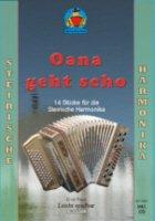 OANA GEHT SCHO - SPIELHEFT - arrangiert für Steirische Handharmonika - Diat. Handharmonika - mit CD [Noten / Sheetmusic] Komponist: PAULI ERICH