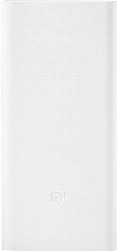 Mi 20000 MAh Power Bank (White, 2i)