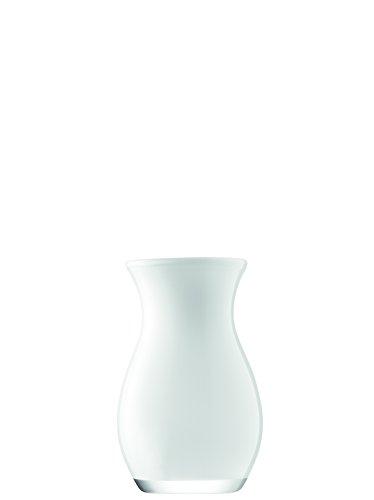 LSA International Blume Farbe Posy Vase H20cm weiß (Weiße Blumen In Vase)