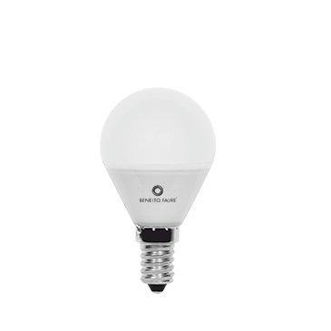 ESFERICA 5W E14 y E27 220V 360º LED de Beneito Faure - Blanco cálido