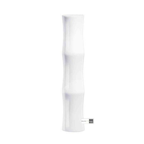 ASA Blumenvase, Keramik, Weiß, 9x9x45 cm