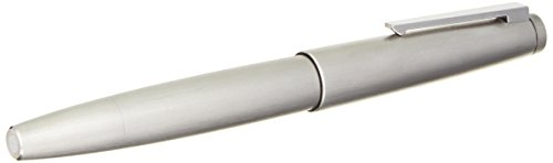LAMY 2000 Brushed Stainless Steel Fountain Pen Extra-Fine Nib (L02MEF) by Lamy