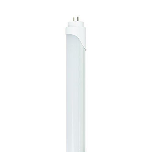 Base 120-volt-bi-pin (Sunlite T8/LED/9W/50K 9-watt 120-volt Medium Bi-Pin Base LED T8 Straight Tube, Super White by Sunlite)