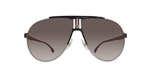 Carrera Unisex-Erwachsene 1005/S IR TI7 Sonnenbrille, Schwarz (RUTBK MTTBLK/GREY BLUEE), 66