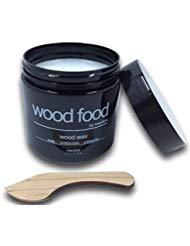 WOOD FOOD [Hautpflege für Holz und Bambus] - Holzpflege Wachs Für Schneidebretter, Möbel und Holzspielzeug (Neutral (Kein Duft), 180ML)