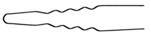 Lockennadeln, gewellt, 50mm, schwarz, 50er