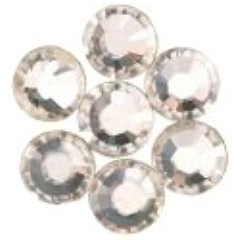 I-beads Mix di strass Hotfix SWAROVSKI a dorso piatto crystal 3.9Mm (60)