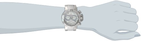 Invicta Women s 14598 Jason Taylor Stainless Steel Chronograph Swiss-Quartz  Mother of Pearl Dial Wat 538f21498f