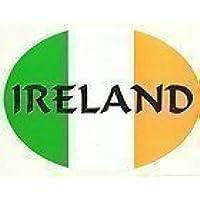 Irlandese Irlanda Tri Colori Bandiera Ovali Esterne Auto Adesivo Paraurti Decalcomania - Colori Bandiera Irlandese