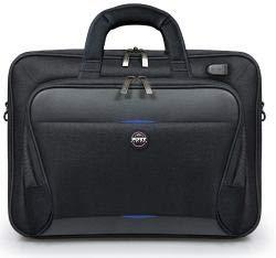 Port Designs Chicago EVO TL 13/15,6 Zoll 39,6 cm (15,6 Zoll) Aktenkoffer schwarz - Laptoptaschen (Koffer, 39,6 cm (15,6 Zoll), Schultergurt, 764 g, schwarz) (Port Chicago)