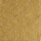 Ambiente - Cóctel Servilletas - Elegance - grabado - 25x25cm - 15 Piezas - diferentes colores - Oro - 4937
