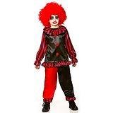 Boys Freaky Evil Clown Halloween Fancy Dress Circus Costume. Size XL (11-13 146-158cm)