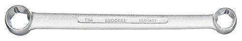GEDORE TX 4 E6XE8 - LLAVE POLIGONAL DE DOBLE BOCA PARA TORX EXTERIOR E6XE8