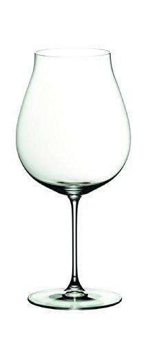 RIEDEL 6449/67 Veritas New World Pinot Noir/Nebbiolo/Rosé Champagner, 2-teiliges Rotweinglas Set, Kristallglas
