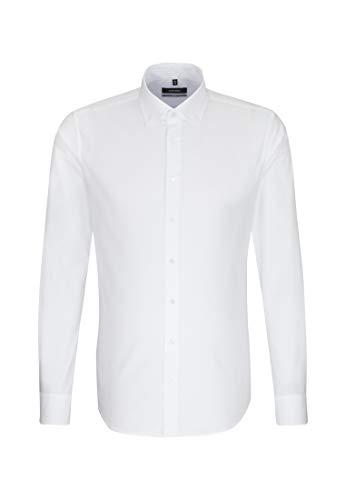Seidensticker Herren Business Hemd X-Slim Langarm Button-Down-Kragen Bügelleicht