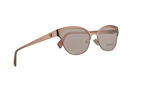 Versace VE1240 Brillen 53-17-140 Kupfer Pink Mit Demonstrationsgläsern 1396 VE 1240