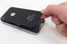 SBBI Generic Back Glass panel COMPATIBLE REPLACEMENT REPAIR PART iphone 4/4G BLACK