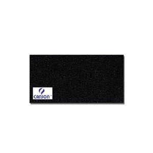 Canson Mi-Teintes Künstlerpapier, 160 g/qm, schwarz, 50 x 65 cm