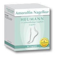 Amorolfin Nagelkur Heumann, 5 ml Nagellack - Fingernagel-pilz