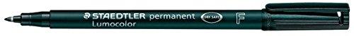 Universalmarker Staedtler 318-9 Lumocolor F permanent, wasserfest, schwarz