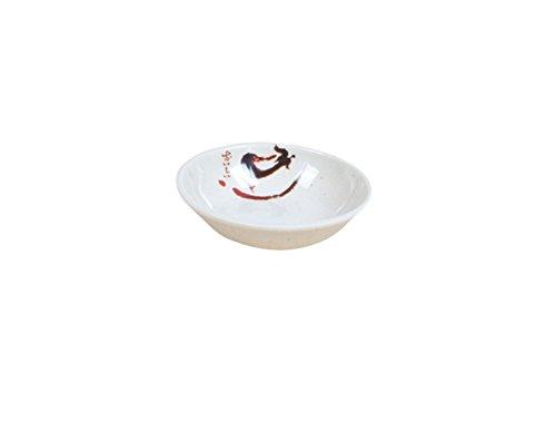 Hosaire 1X Salsa Soia Immersione Ciotola Di Piatto 7cm Diametro Bianco,L
