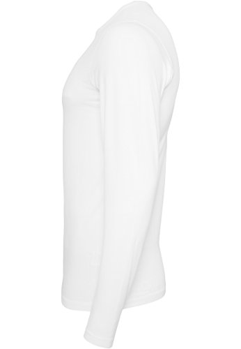 URBAN CLASSICS - Fitted Stretch Longsleeve Tee (white) White