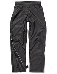 Polaris Prism Pantalon de cyclisme imperméable Noir Grande taille 9à 10ans