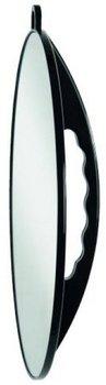 Efalock Professional Handspiegel Slim, schwarz, 1er Pack, (1 x 1 Stück) (Hand-spiegel Runde)