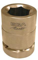 EGA Master 77869–Impact Steckschlüssel 1/5,1cm–16mm nicht glänzend al-bron (6Kanten)