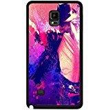 Pink Design Picture Michael Jackson Phone caso caso for Funda Samsung Galaxy Note 4 MJ Music Dance