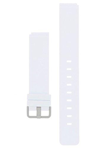 Bering Max Rene Armband Silikon Titan Schliesse 18 MM Weiss - Serie : 12639