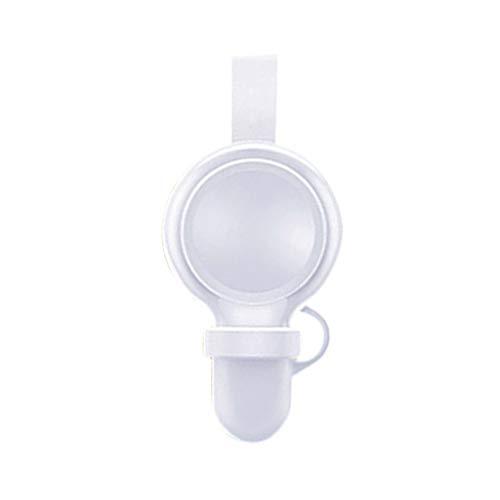 Mumuj Wireless Charger, Watch Fast Wireless-Ladegerät Glasspiegel-Ladegerät Portable Magnetisches kabelloses USB-Ladegerät für Docking-Ständer für Apple Watch/iWatch-Serie 4 40 / 44mm Portable Docking