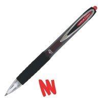 Uni-Ball Signo 207Retractable gel Ink rollerball Pen 0.5mm Line Red [confezione da 12]