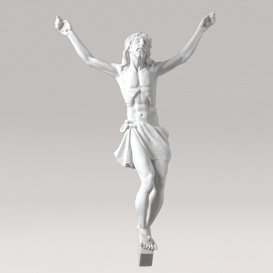 Marmorguss Christus Grabfigur - Opfertod Jesu