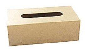 RAYONNAGE Boîte mouchoirs carton à décorer 23,5x12x7,5cm