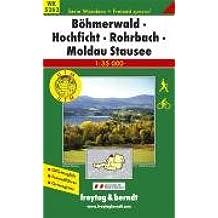 Freytag Berndt Wanderkarten, WK 5262, Böhmerwald - Hochficht - Rohrbach - Moldau Stausee 1:35.000