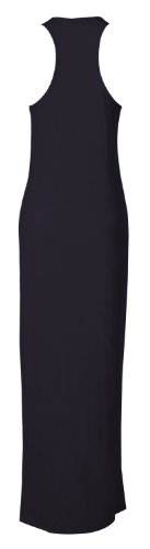 Fast Fashion Maxi robe sans manches dos nageur Bleu - Bleu marine