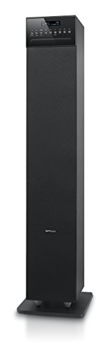 Muse 1350DAB Speaker Bluetooth con DAB/DAB +, FM radio, CD e porta USB NERO