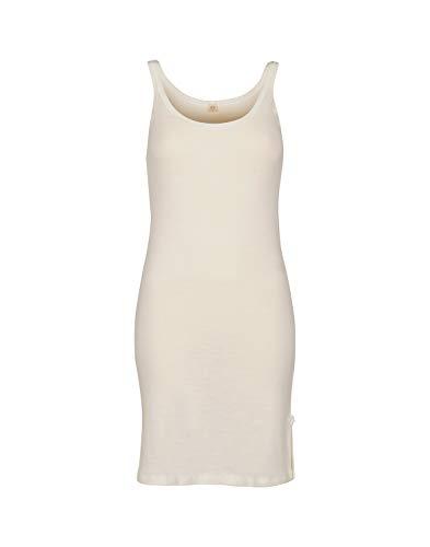 DILLING Nachthemd für Damen aus 100% Bio-Merinowolle Natur 40