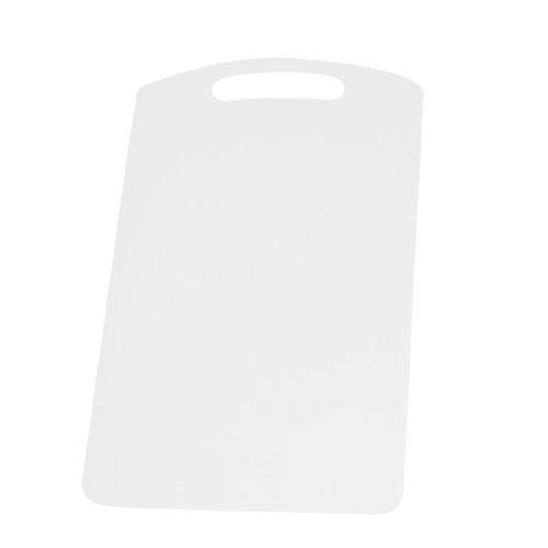 Plastic Thin PP Flexible Cutting Mat Planche à découper blanc