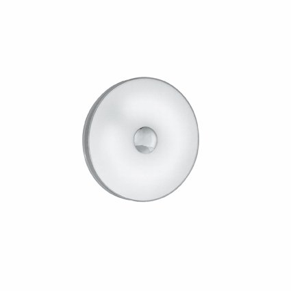 Pl2 Serie (Ideal Lux AUDI-50PL2D53Suitable for Indoor Use T5Chrome-Wall Lighting (Surfaced, Bedroom, Children 's Room, Dining Room, Living Room, Chrome, Glass, Metal, IP20, Round))