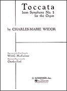Charles Widor: Toccata (Symphony No.5 For Organ). Für Orgel