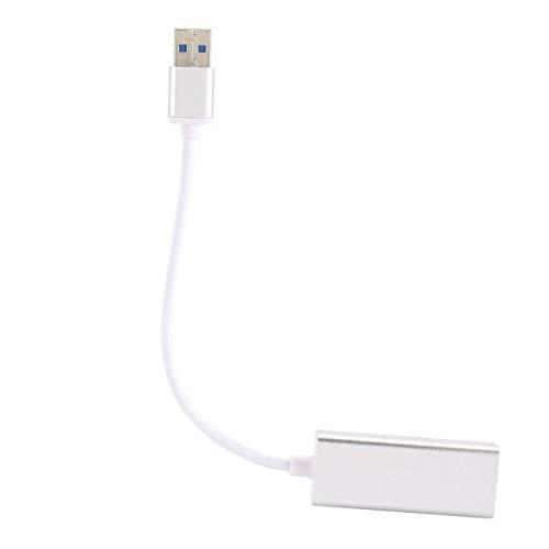 100 Compact Usb (Elviray Leichter portabler Mini Durable 10/100/1000 Netzwerkkartenkonveter Gigabit Ethernet USB 3.0 zu Gigabit Ethernet Adapter)