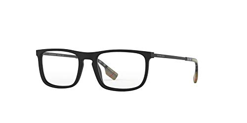 BURBERRY Brille (BE-2288 3464) Acetate Kunststoff matt schwarz