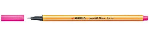 Stabilo 88/056 Fein-Liner und Pigmentliner Feinliner Point EF neonrosa Test